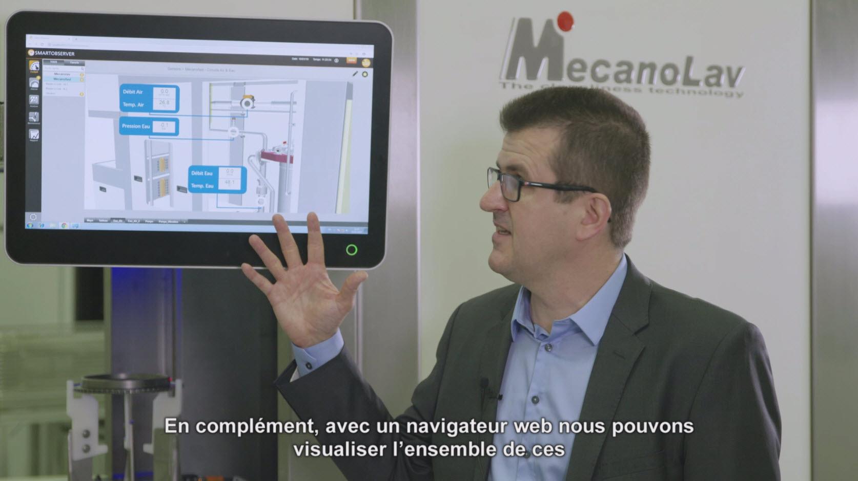 Digitalisation des machines à laver industrielles de MecanoLav