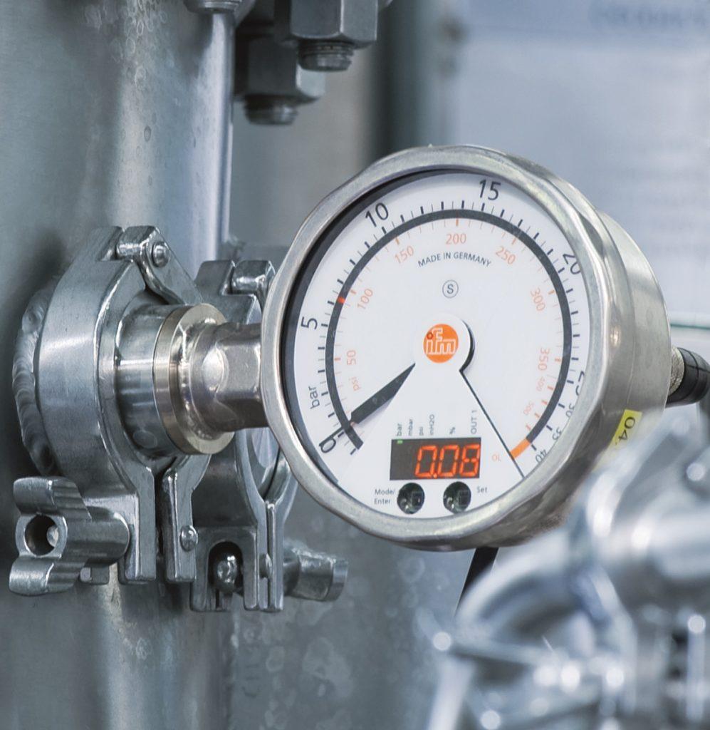 capteur pression industrie ifm