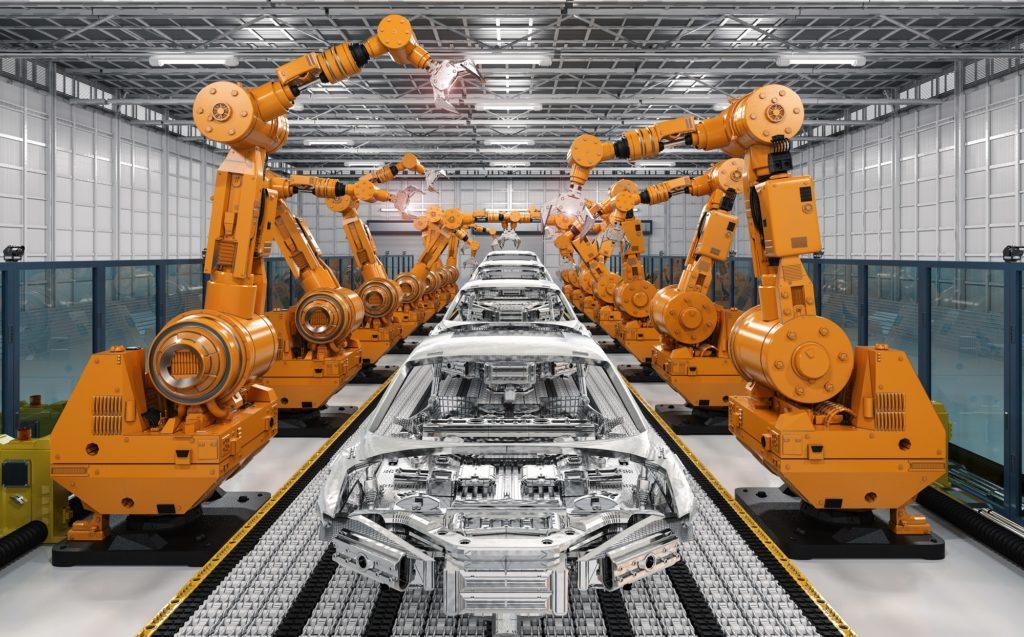 maintenance machines d'assemblage automobile industrie 4.0